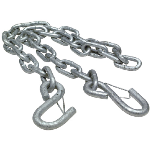 "Seachoice Trailer Safety Chain 1/4""x42"" Zinc 50-51281"