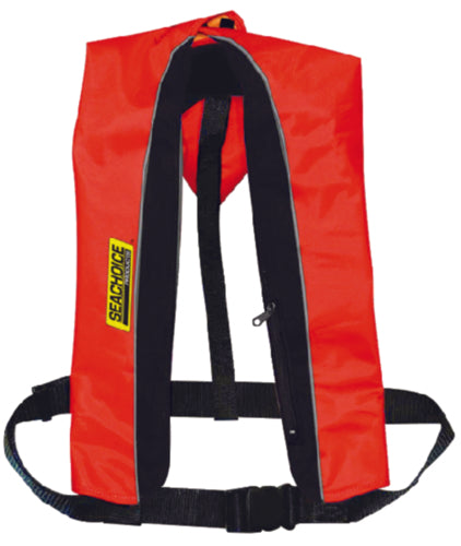Seachoice Life Vest Type V Inflatable 33G Manual Red/Blk 50-85830
