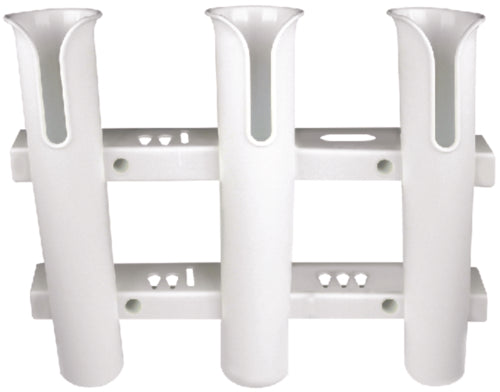 Seachoice Fishing Rod Rack 3-Rods White 50-89411