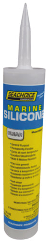 Seachoice Silicone Sealant Clear 10.1oz 50-96941