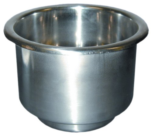 "T-H Marine Drink Holder 4-1/4"" S/S LCH-1SS-DP"