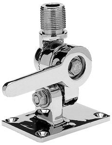 Seachoice Antenna Ratchet Mnt-Chr Brass 19521