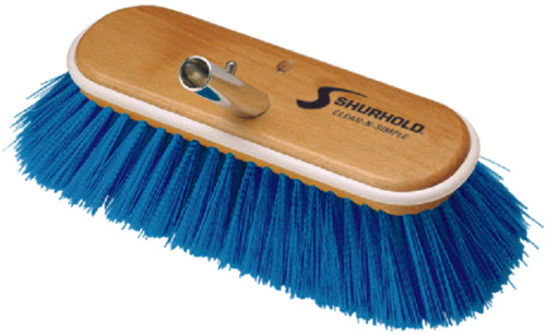 "Shurhold Deck Brush Extra Soft Blue 10"" 975"