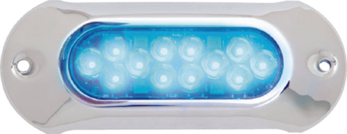 "Attwood LED LightArmor Underwater Light 6"" Blue 66UW12B-7"