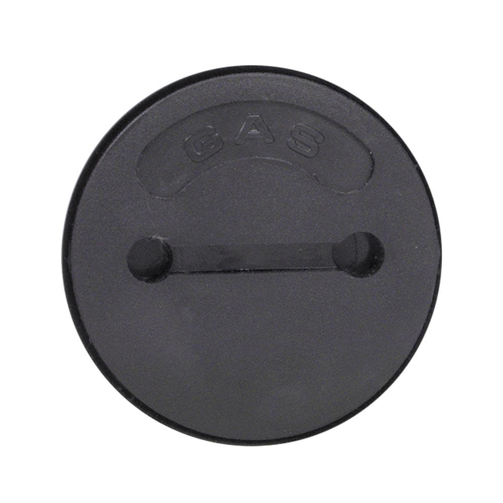 "Perko Gas Deck Fill Cap Only 1-1/2"" Black 1270-DPG-99A"