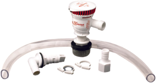 Attwood Tsunami Recirculating Aerator Kit 500gph 4253-7