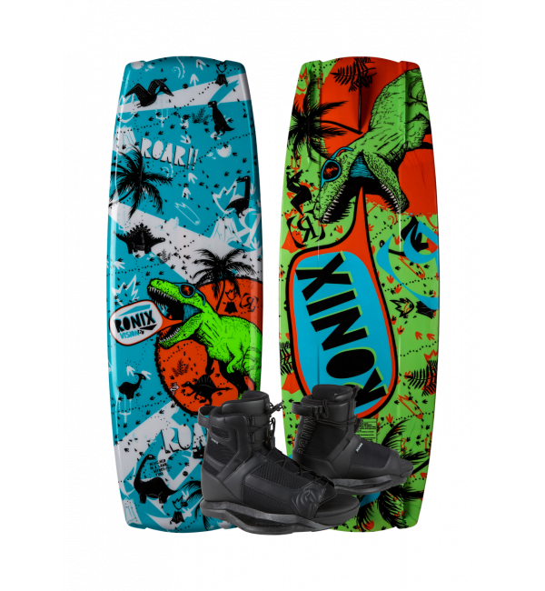 Ronix Vision Boy's 120 Wakeboard Package | Divide Boot | 2021