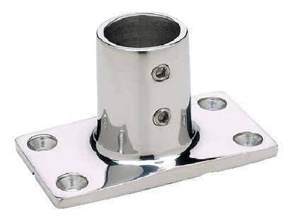 "Seachoice Rail Fitting Rectangular 90' 7/8"" Chrome 50-37921"