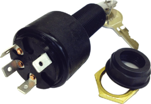 Sierra Ignition/Starter Switch Long Shaft 4 Position MP39800