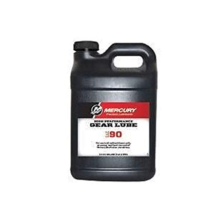 Mercury High Performance Gear Lube 2.5gal Ea 92-858065K01