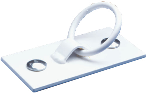 Dock Edge Mooring Ring White 87108F