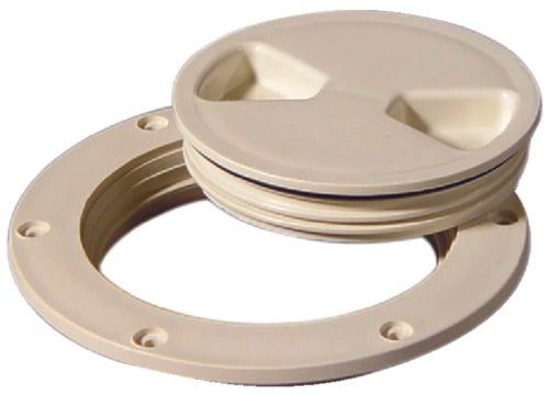 "Tempress Screw Out Deck Plate 4"" White 43030"