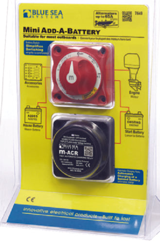 Blue Sea Mini Add-A-Battery 7649