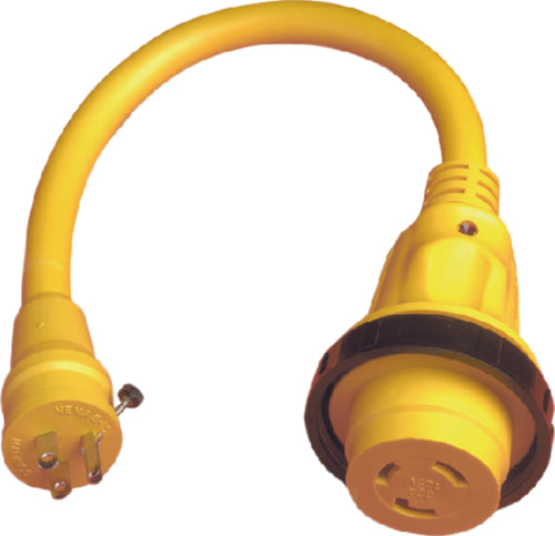 Marinco Shorepower LED Pigtail Adapter 104SPP