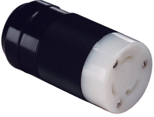 Marinco Shorepower Female Connector Black #69-305BC