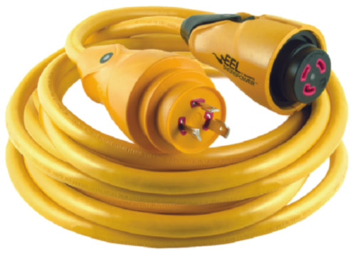 Marinco EEL Shorepower Cordset 30amp/125v 50ft CS30-50