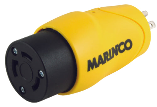Marinco Shorepower EEL Straight Adapter Female 30amp S1530