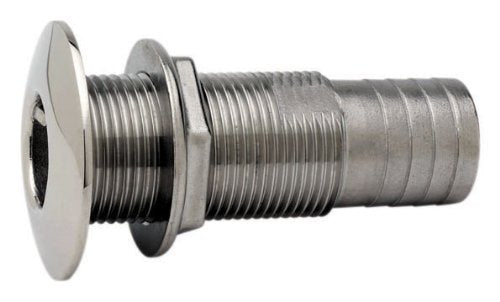 "Attwood Thru-Hull Connector 1"" S/S 66548-3"
