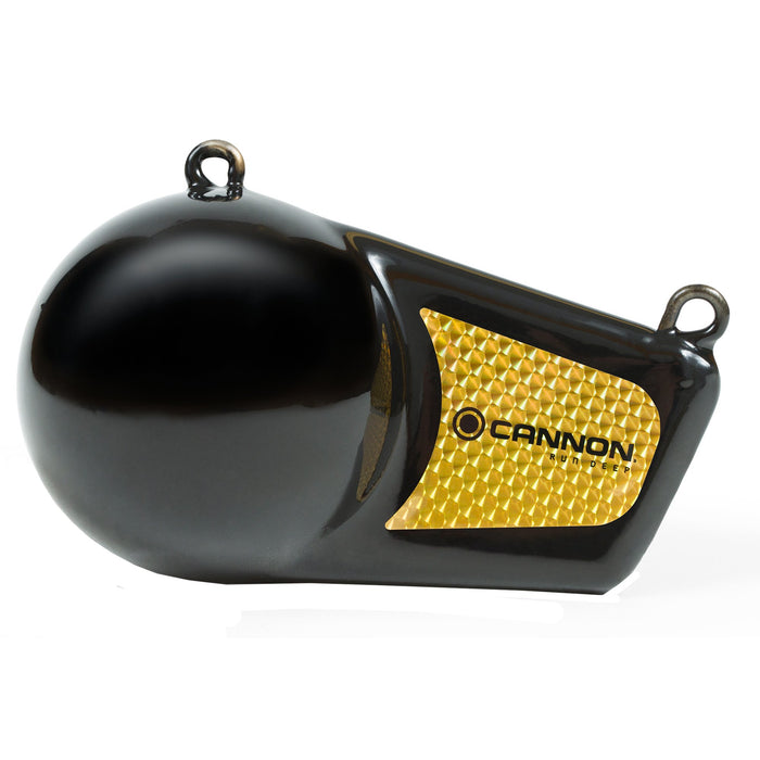 Cannon Downrigger Flash Weight Black Vinyl Coated 8lb 2295182