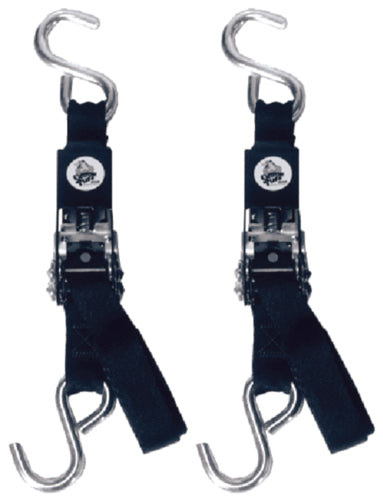 Epco Transom Ratchet Tie Downs 1''x3-1/2ft Pr TR3