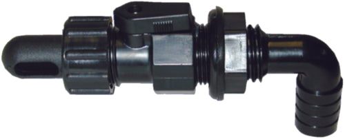 T-H Marine Aerator Spray Head/Wash Down Fitting Black AHVWD-90-DP