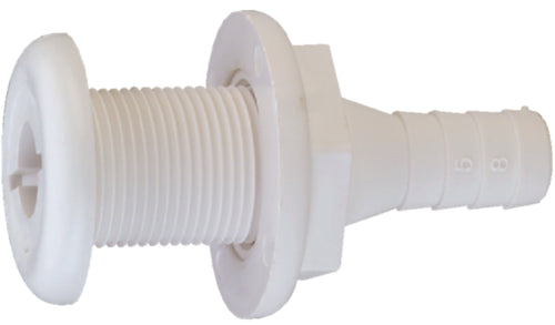 "Attwood Thru-Hull Connector 3/4"" White 3873-3"