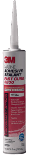 3M 5200 Fast Cure Adhesive/Sealant White 10oz 06520