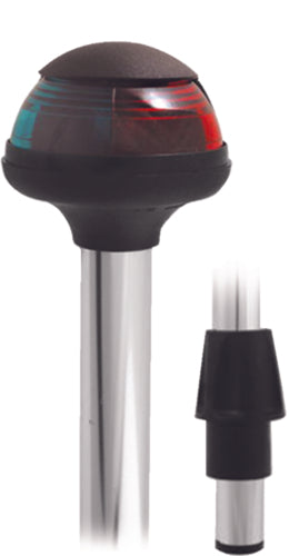 "Attwood Stowaway Bi-Color Bow Light Pole 10"" 5092-10-7"