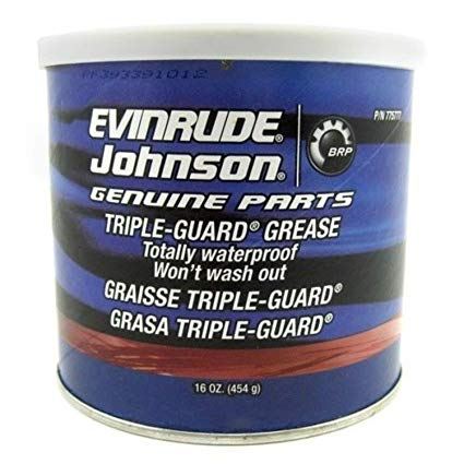 Evinrude Johnson Triple Guard Grease 1lb Tube 0775777