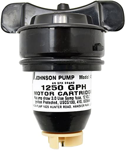 Johnson Replacement Cartridge Pump Motor 1250gph 42522