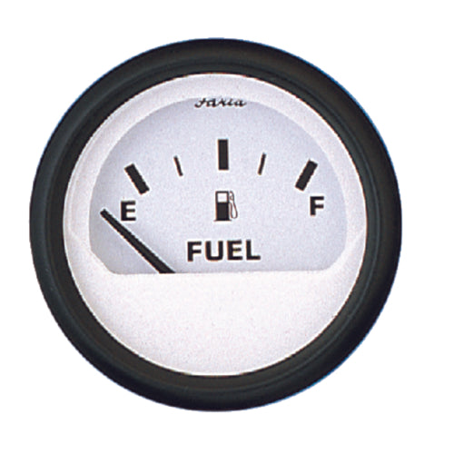 "Faria Euro White Fuel Level 2"" (E-1/2-F) 12901"