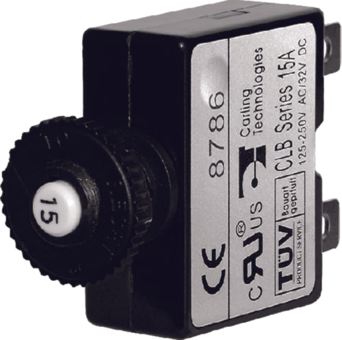 Blue Sea Push Button Reset-Only Circuit Breaker 5amp 7052