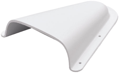 "Beckson Clam Shell Vent 5-3/4"" White C-4"
