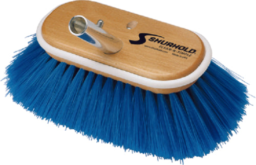 "Shurhold Deck Brush Extra Soft Blue 6"" 970"