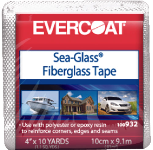 Evercoat Sea-Glass Fiberglass Tape 4''x10 Yards 100932