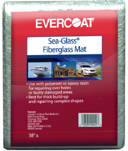 "Evercoat Sea-Glass Fiberglass Mat 38""x102"" 100941"