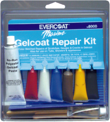 Evercoat Gelcoat Repair Kit 1oz 108000
