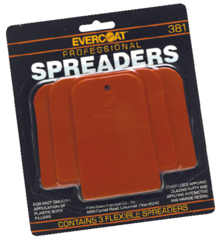 Evercoat Plastic Spreader Kit 3-Pak 100381