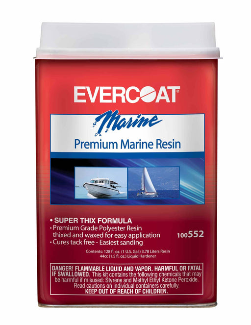 Evercoat Premium Marine Resin w/Wax Pt 100554
