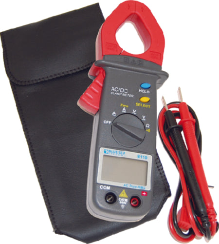 Blue Sea Mini Clamp Multimeter AC/DC 8110