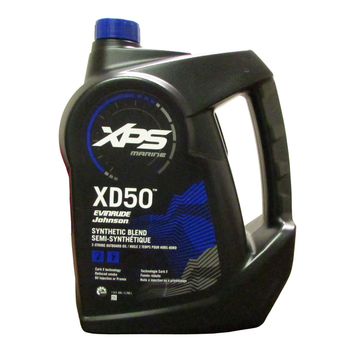 Evinrude Johnson XPS XD50 2-Cycle Oil 2.5 Gal Ea 0779719