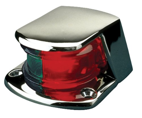 "Seadog Bi-Color Bow Light 2-7/8"" Chrome 400155-1"