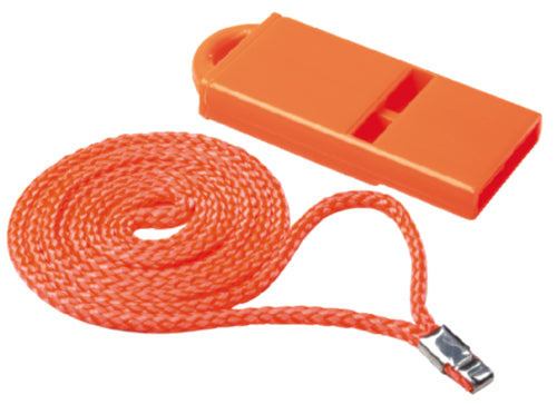 Seachoice Safety Whistle Orange w/Lanyard 50-46041
