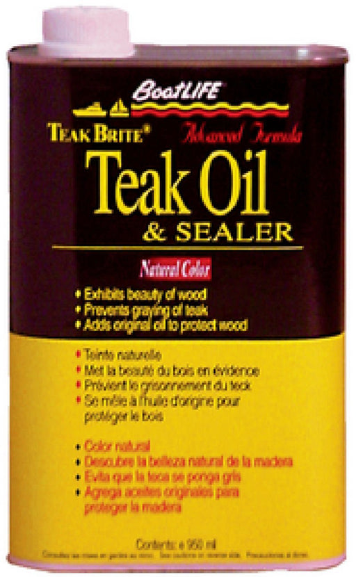 BoatLIFE Teak Bright Teak Oil Qt 1088