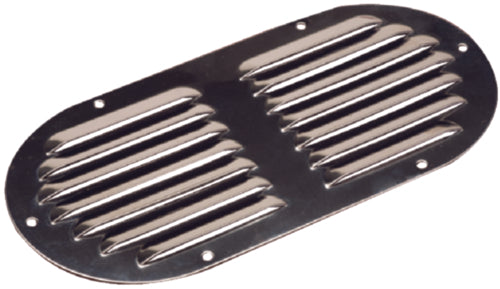 "Seadog Louvered Vent Oval 9"" S/S 331405"