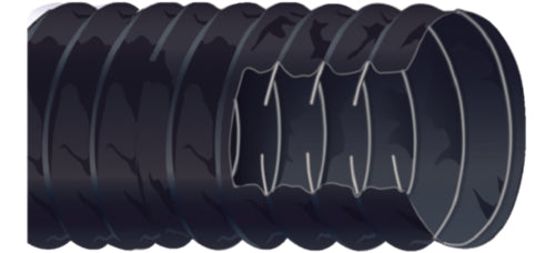 "Shields Bilge Blower Hose 3""x10ft Black 402-3003-1"