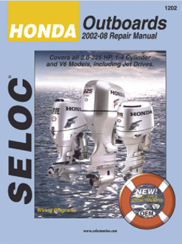 Seloc Manual Honda O/B 2002-2014 1202