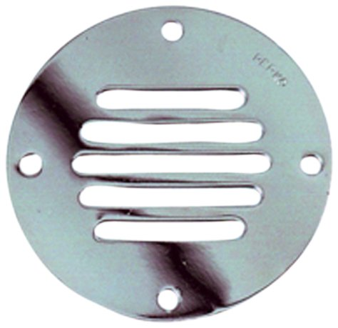 "Perko Locker Ventilator Round 2-1/2"" Chrome 0330-DP1-CHR"