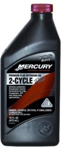 Mercury Premium Plus 2-Cycle O/B Oil Qt Ea 92-858026K01