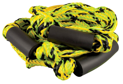 Green/Yellow  Knotted Surf Rope